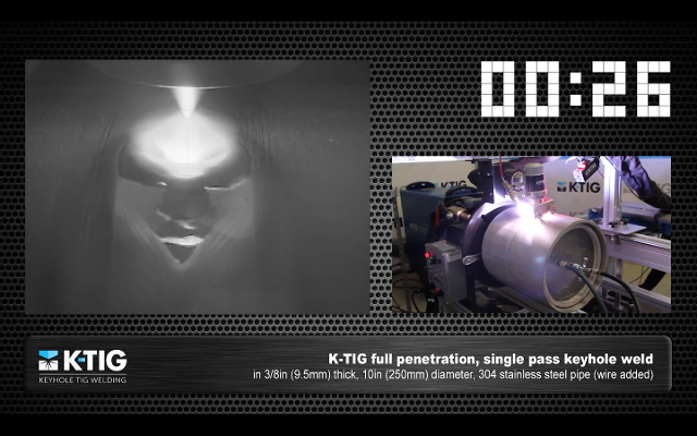 K-TIG Live Welding Videos