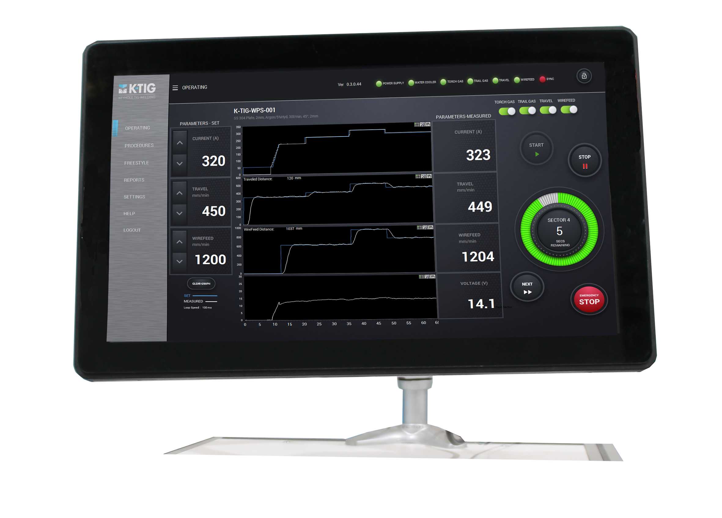 K-TIG Controller Evolve 1000 Equipment-1