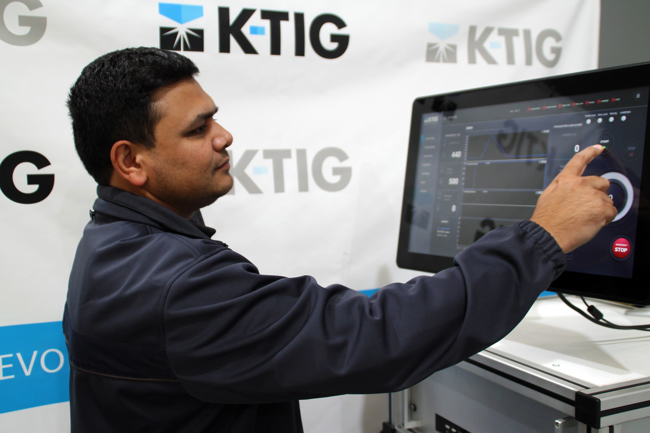 Internet of things K-TIG Controller